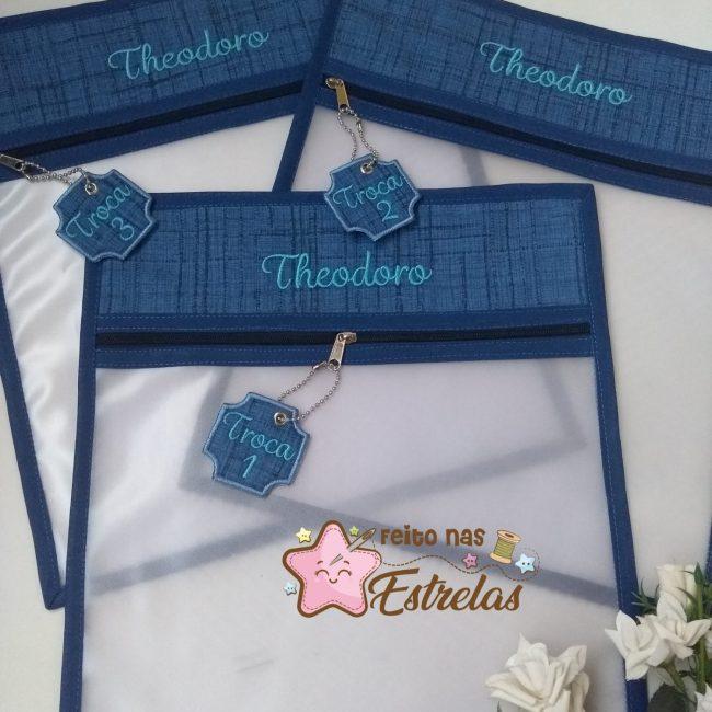 Saquinhos organizadores para maternidade kit com 3